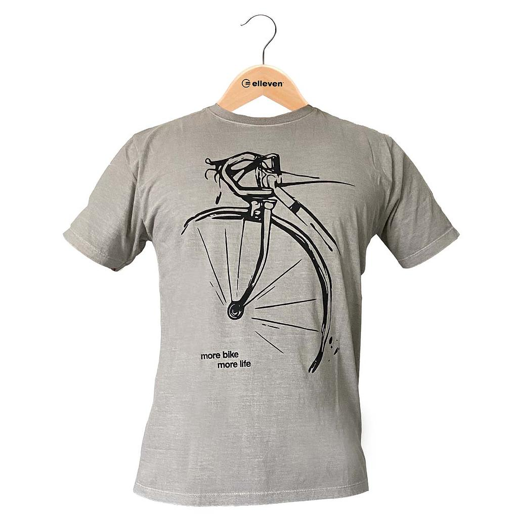 CAMISETA SPEED ART CINZA ESCURO G